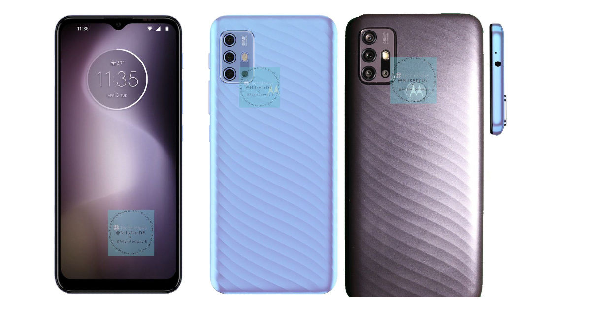 Moto G10, Moto G30, and Moto E7 Power specifications, prices, and renders leak out - 91mobiles