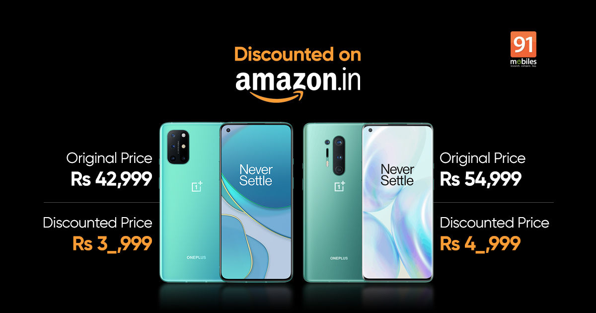OnePlus 8T and OnePlus 8 Pro prices slashed by up to Rs 7,000 discount: how to avail the offer - 91mobiles