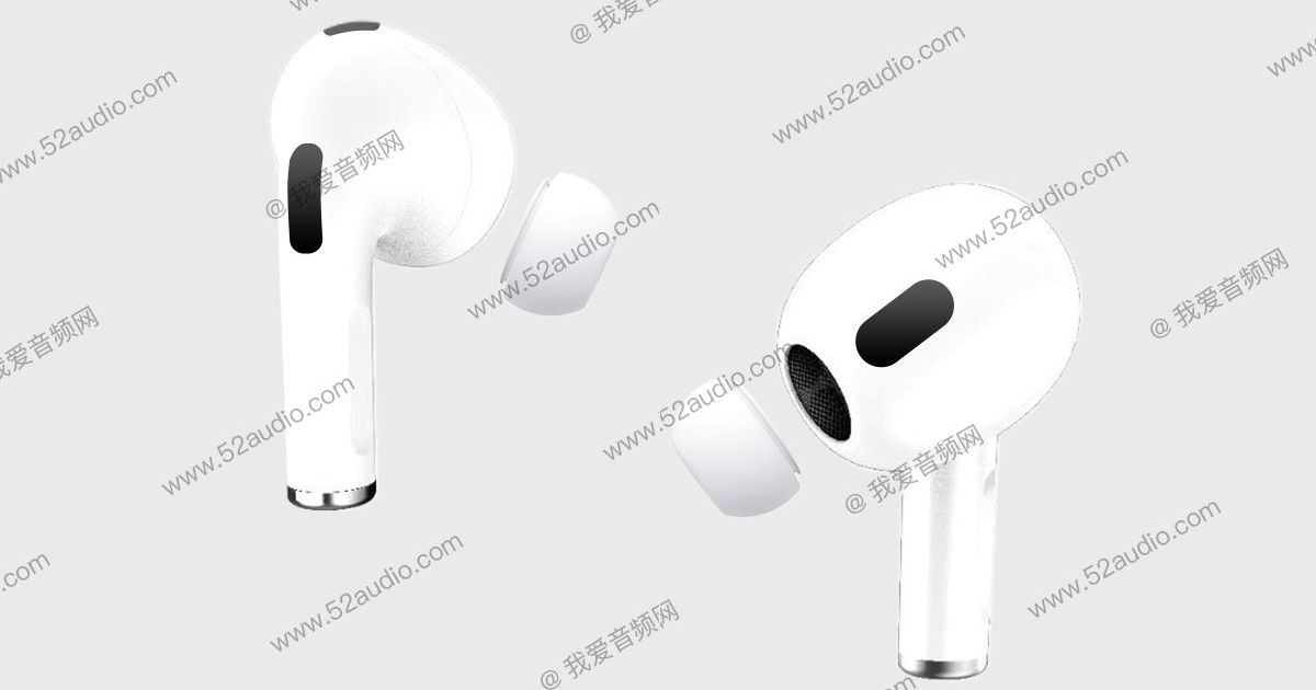 Apple AirPods 3 design leaked, tipped to feature Active Noise Cancellation - 91mobiles