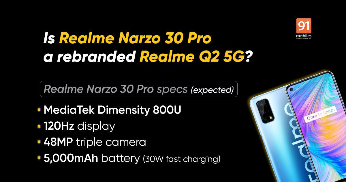 """سعر هاتف  """"Realme Narzo 30 Pro"""""""
