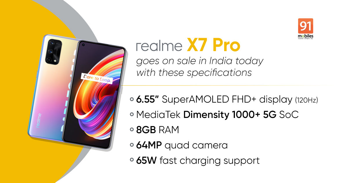 Realme X7 Pro 5G goes on sale in India, but should you buy it? - 91mobiles
