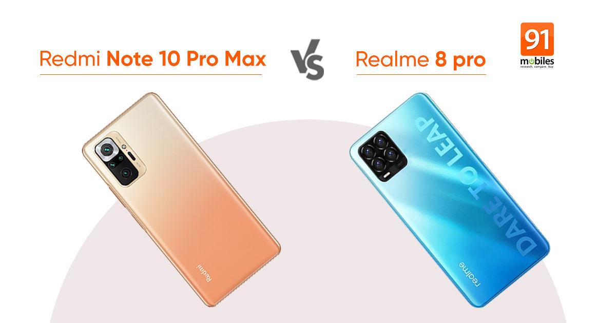 5 ways Realme 8 Pro will compete against Redmi Note 10 Pro Max