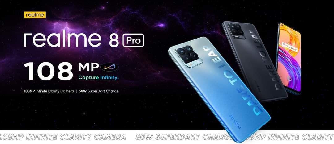 Realme 8 Pro teaser