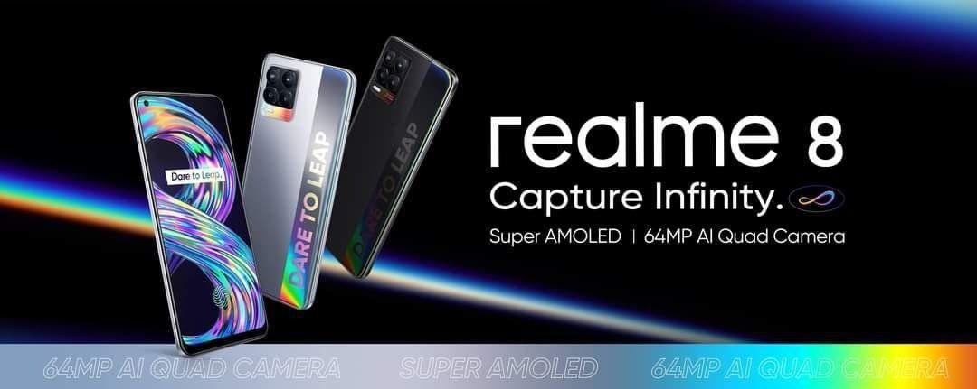 Realme 8 teaser